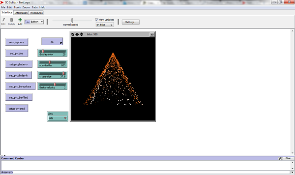 Netlogo screen-shot