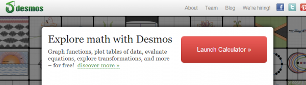 Desmos screenshot