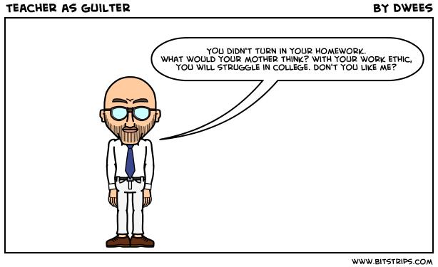 Teacher as Guilter