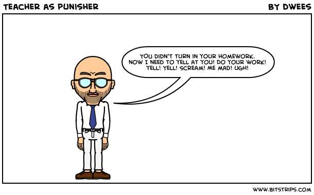 Teacher as punisher