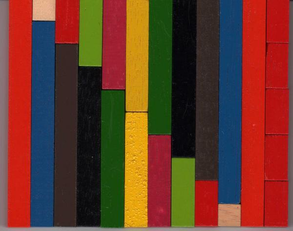 A bag of cuisenaire rods