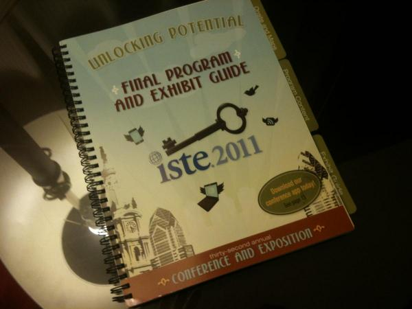 ISTE Conference planner