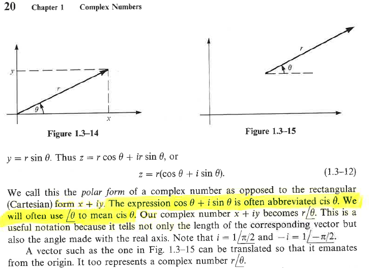 Example from Complex Variables textbook