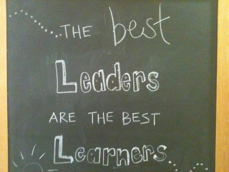 The best leaders are the best learners